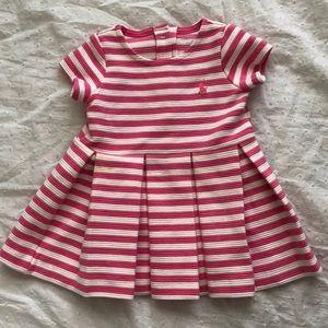 🌷🌷Ralph Lauren Pink Striped Dress🌷🌷